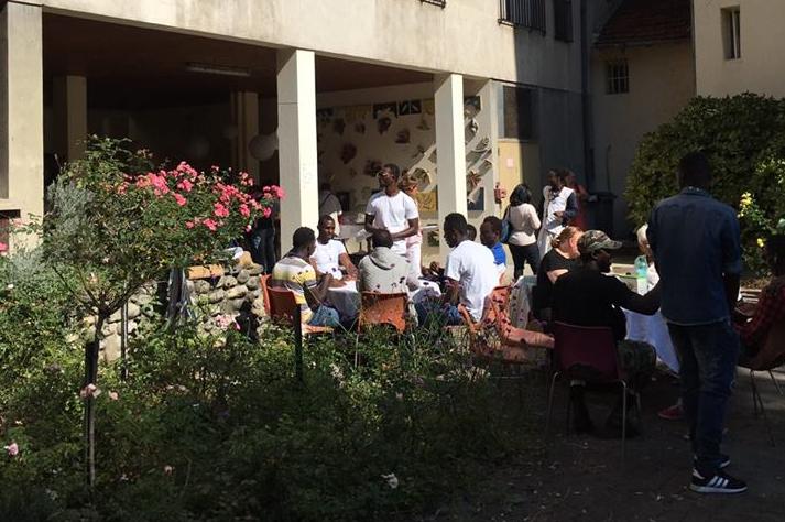 Inauguration de la Maison des Accueilli·e·s à Grenoble