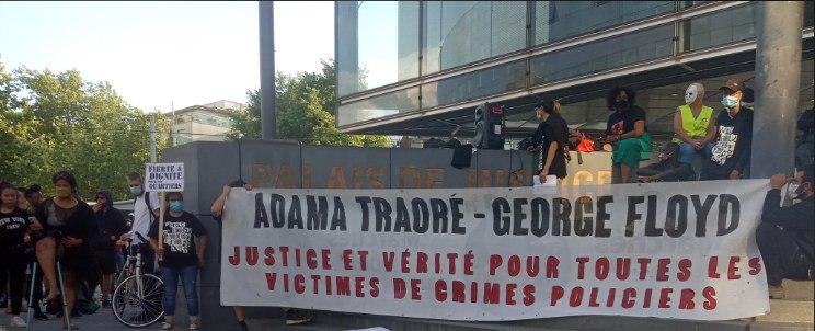 Rassemblement contre les violences policières et racistes